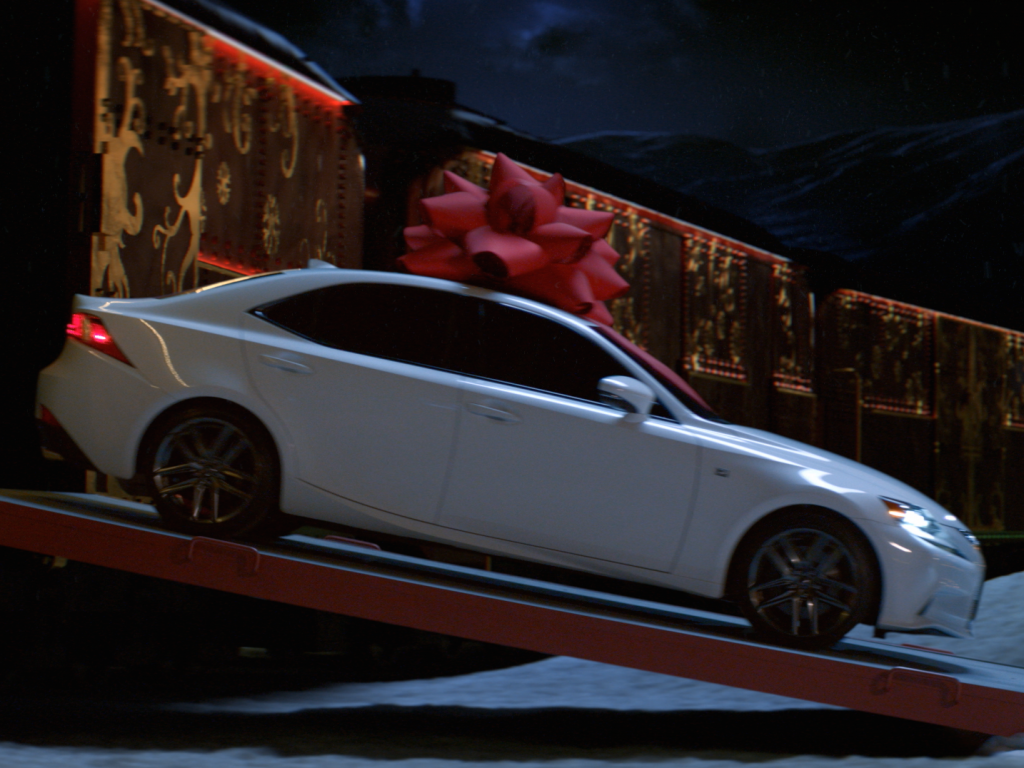 Lexus<br />Christmas Train