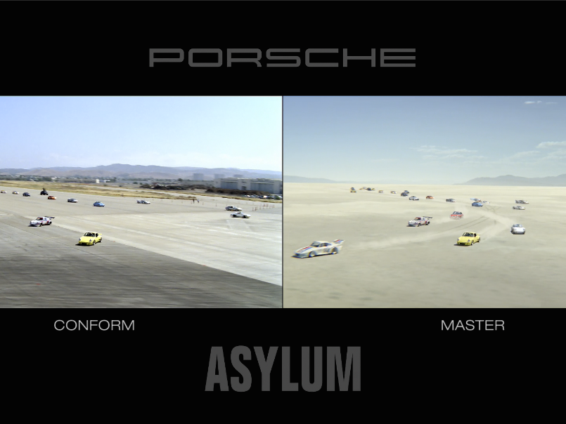 Porsche Family Tree<br />Before & After